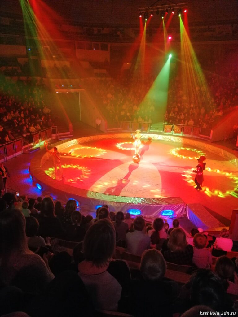 Посещение цирка